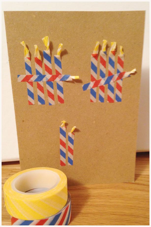 Ruck-Zuck-Geburtstags-Karte