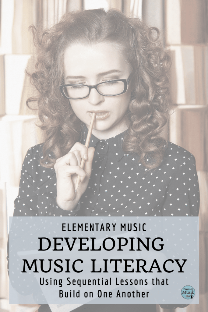 Developing Music Literacy in the Elementary Music Classroom | Sequential Lessons