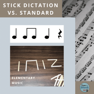 Teaching Young Students to Read Music   Stick Dictation vs. Standard Notation