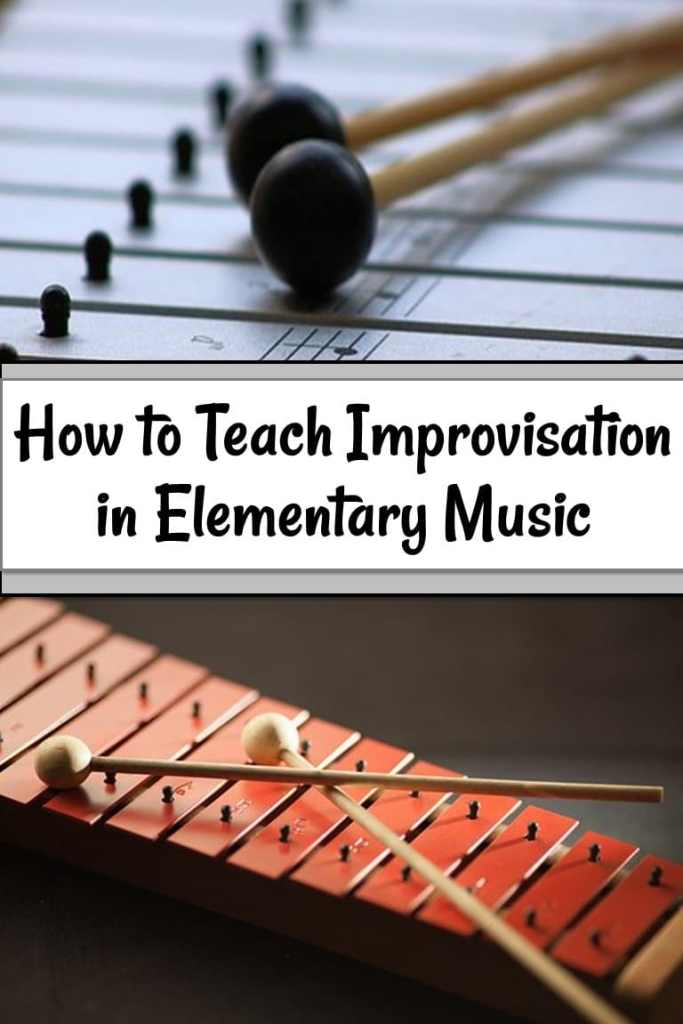 How to Teach Improvisation in Elementary Music with xylophones