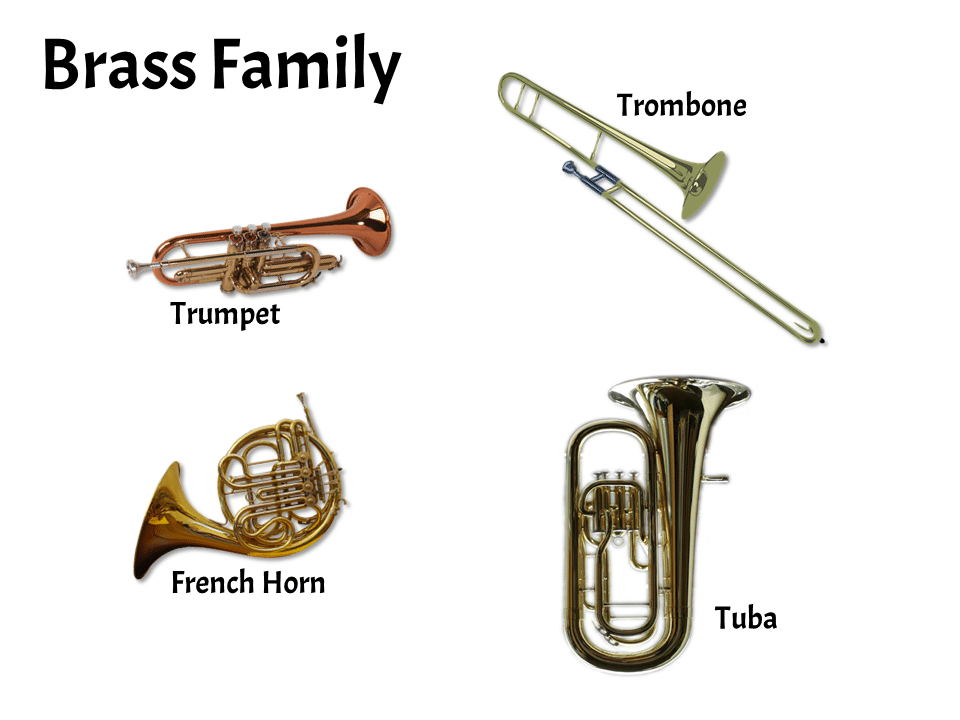 Brass Family | FREE Lesson - Learn About the Instruments of the Orchestra and Band | Elementary Music Classroom