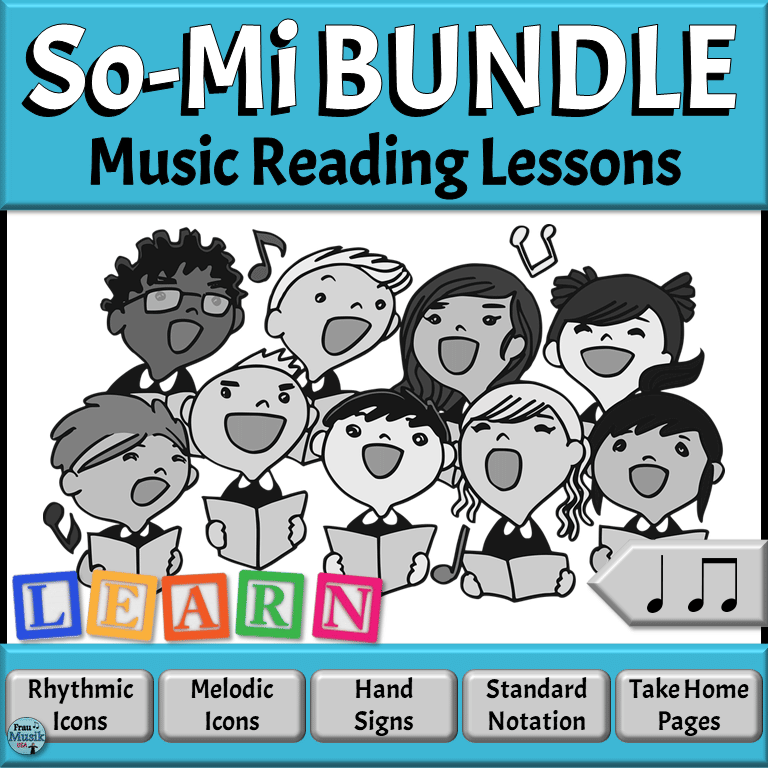 Sequential Lessons for Developing Music Literacy in the Elementary Music Classroom | So Mi