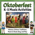 Oktoberfest Lesson with Picture of Neuschwanstein Castle