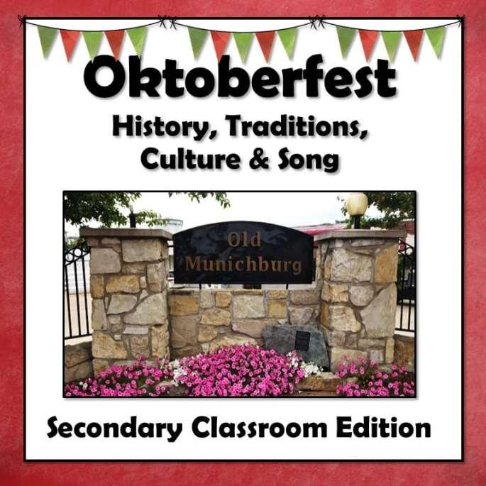 Oktoberfest Lesson for Beginning German Class