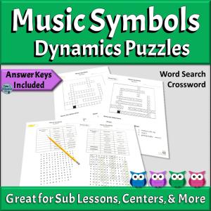Music Symbols Puzzles | Dynamics