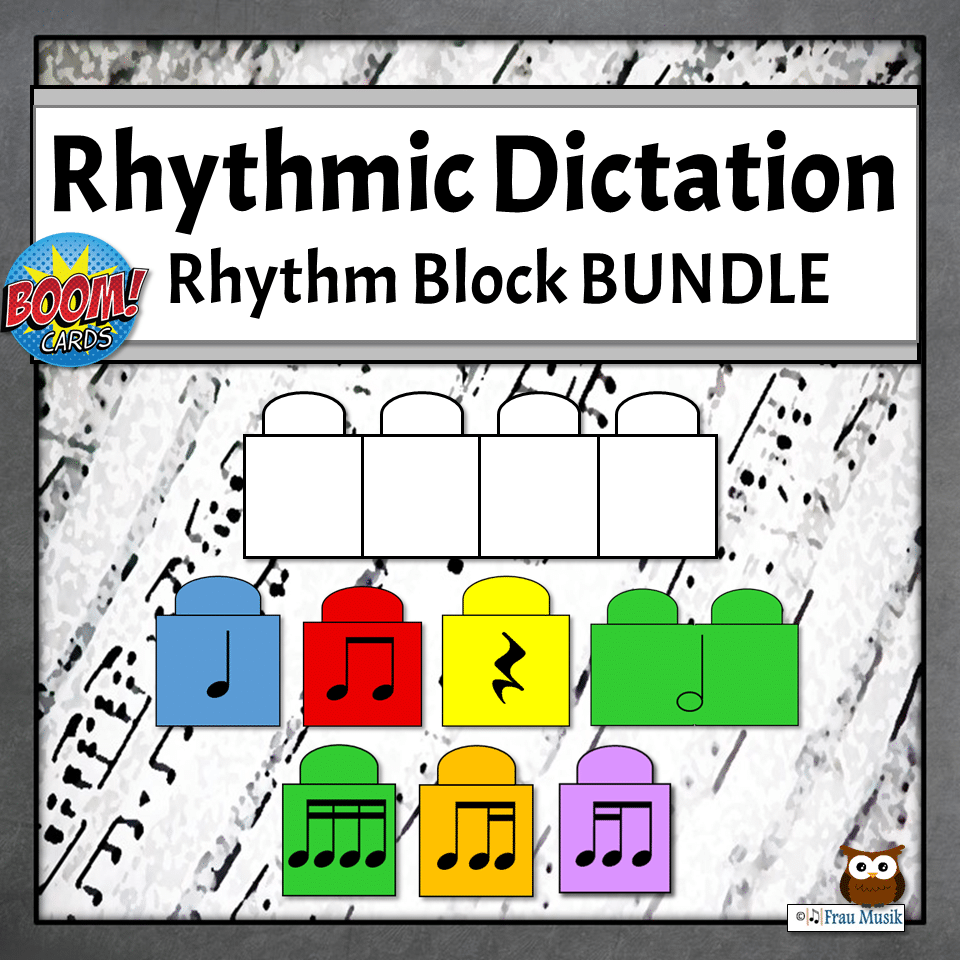 Elementary Music Online Activities for Teaching and Learning | Rhythmic Dictation Bundle