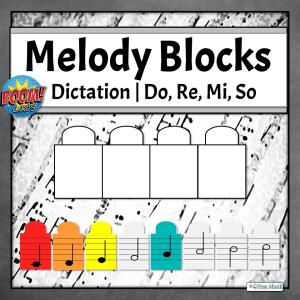 Melodic Dictation Blocks | Do, Re, Mi, So