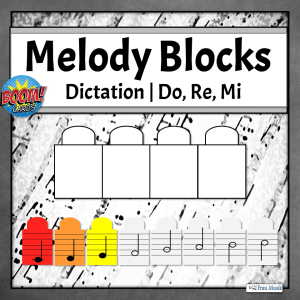 Melodic Dictation Blocks | Do, Re, Mi