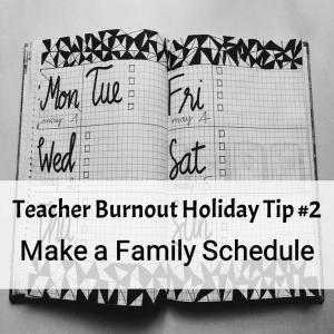 Prevent Teacher Burnout Tip #2