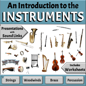 Meet the Instruments of the Orchestra - BUNDLE | Elementary Music Classroom