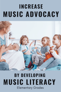 Increase Music Advocacy by Developing Music Literacy in the Elementary Grades