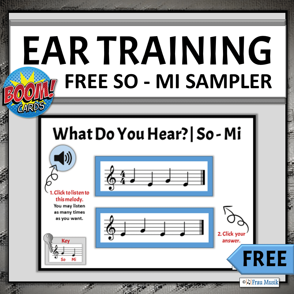 FREE Elementary Music Online Activities for Teaching and Learning | Ear Training Game