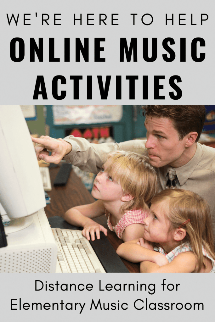 Online Music Activities for Elementary Students, Parents, and Teachers | Distance Learning