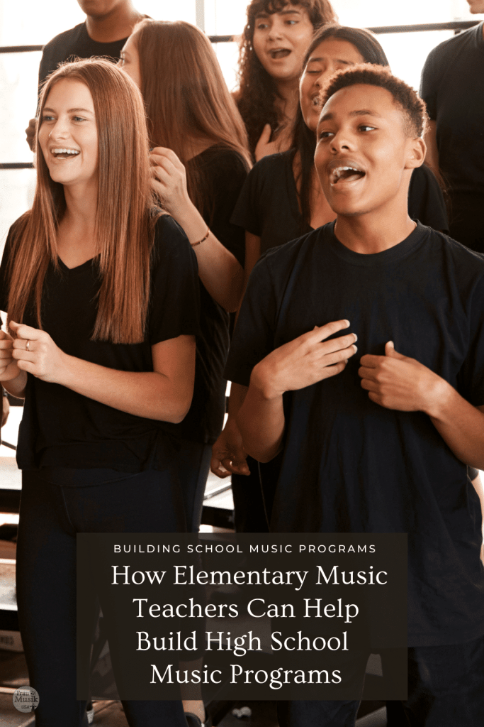 7 Ways Elementary Music Teachers Can Help Build Middle School & High School Music Programs