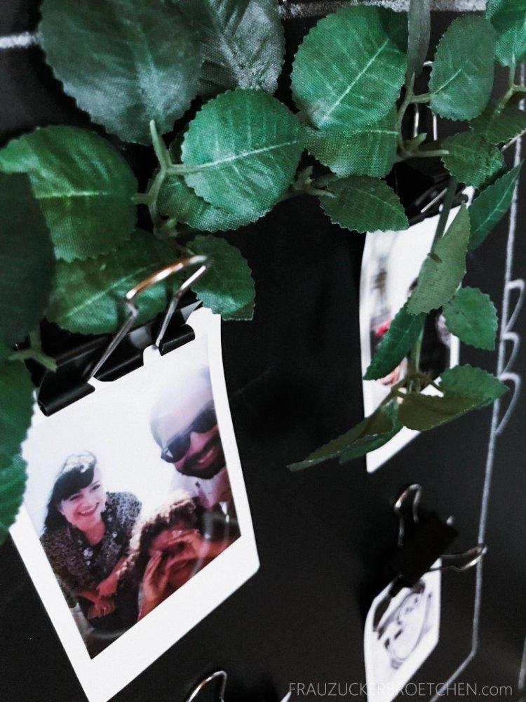 DIY Magnettafel Klips für Polaroid Fotos