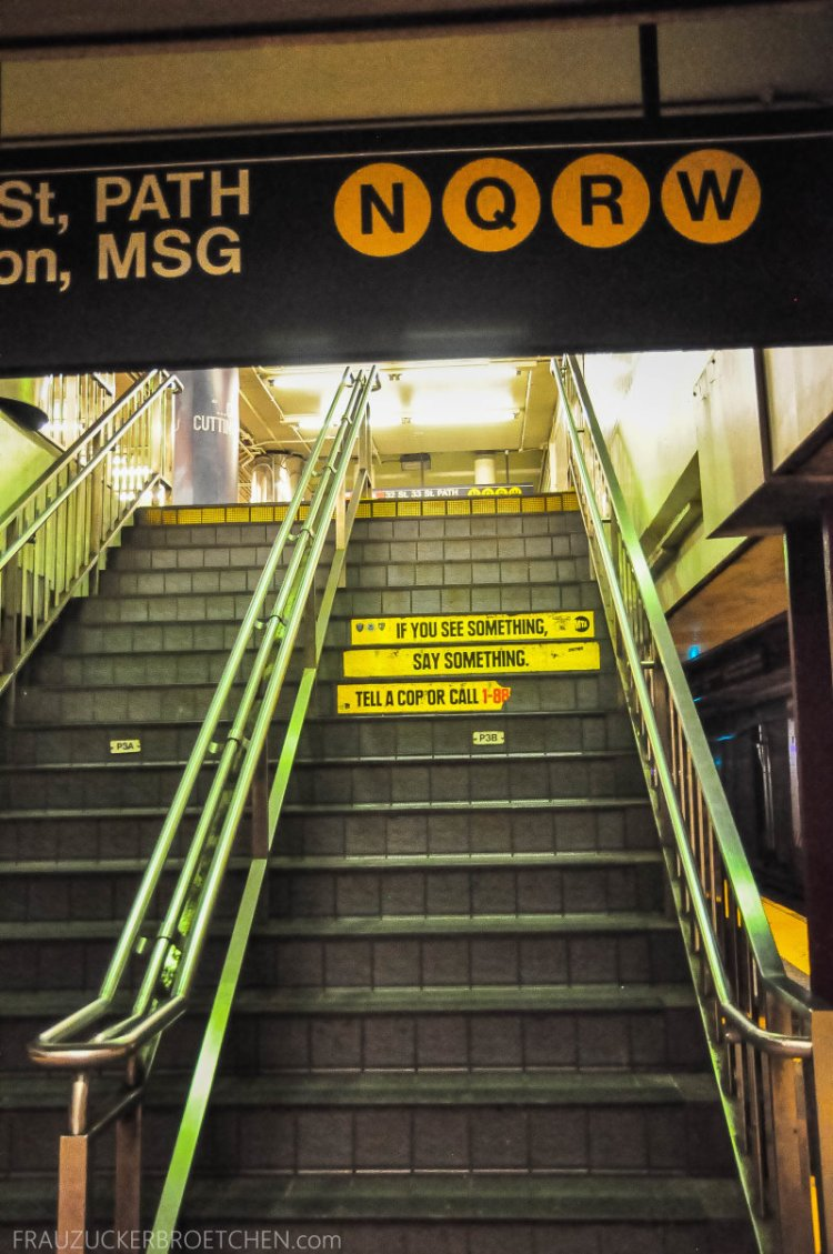 New Yorker Metro durch meine Linse7_ Herbst 2017