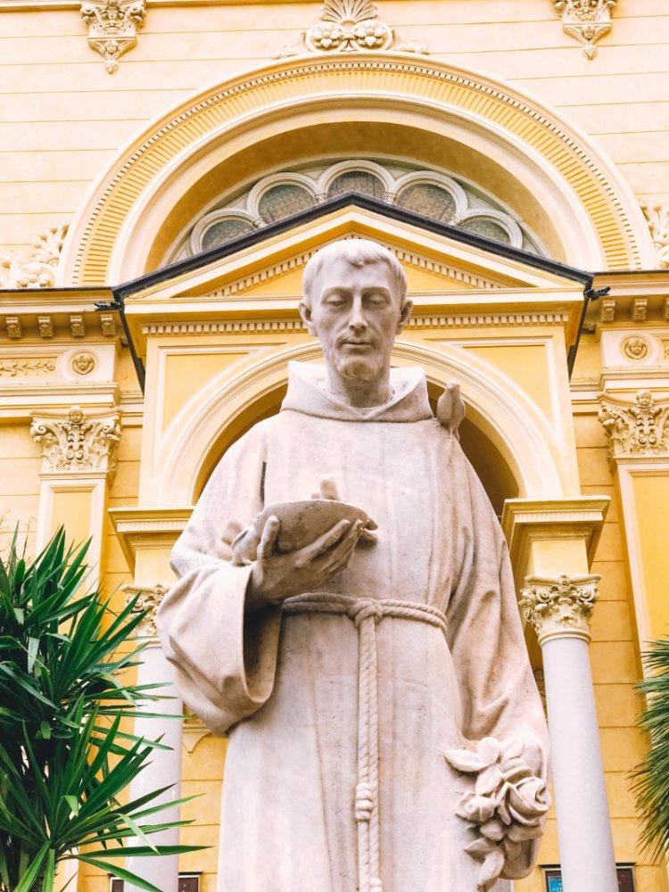 Das Kapuziner Kloster in Sanremo / Italien