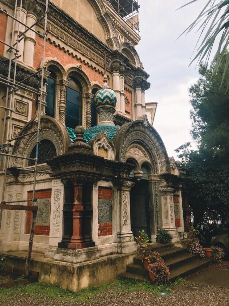 Russisch-orhodoxe Kirche San Borilio Sanremo2