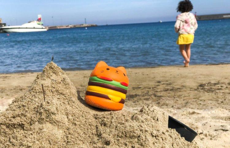Am Strand von Sanremo chillen