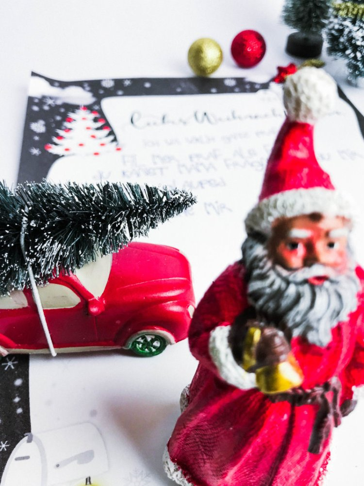 Ein lieber Brief an Santa