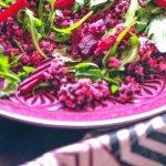 {Rezept} Mein Yummy-Belugalinsen-Couscous-Salat mit Rote Bete und Rucola!