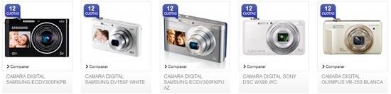 Elige las mejores cámaras digitales
