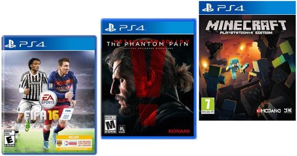 Juegos para consola PS4