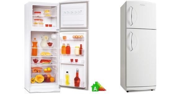 Heladera con Freezer 2 fríos Patrick