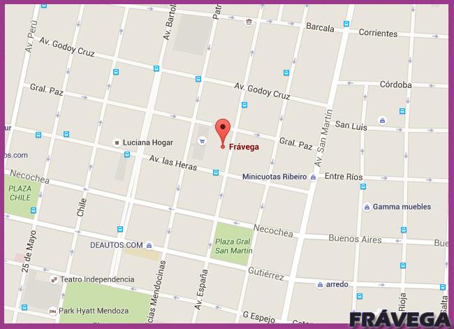 Fravega sucursal de Mendoza