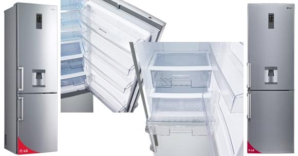 Heladera con freezer LG no frost