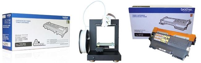 Tinta cartuchos impresoras 3D Frávega