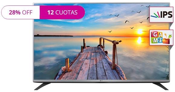 "TV Led Lg 43"" en Frávega"