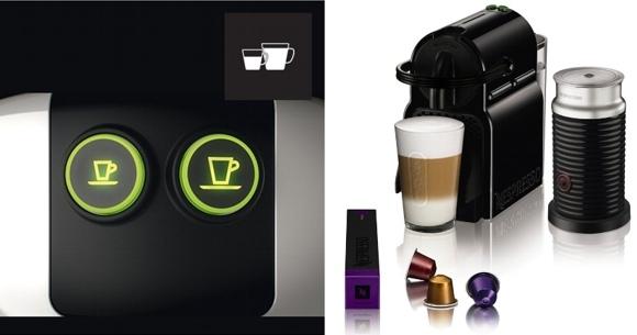 Cafeteras para empresas y hogares Inissia