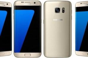Smartphone celular libre samsung s7 dorado