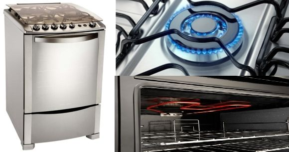 Cocina Electrolux multigas 4 hornallas  Frvega oferta