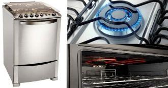 Cocina Electrolux multigas 4 hornallas