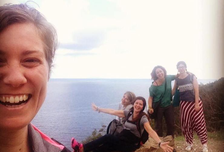 gente felice all'Elba