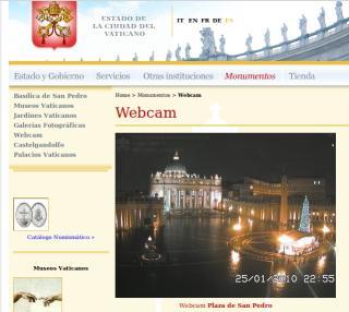 webcam san pedro