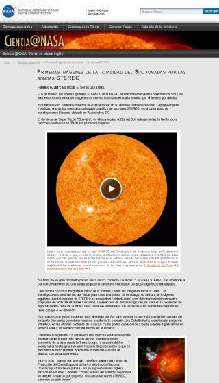 NASA - Sol