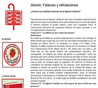 falacias sobre el aborto