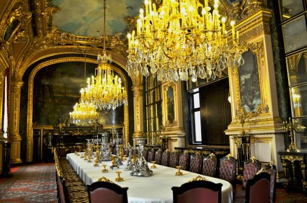 Napoleon Room Louvre Museum