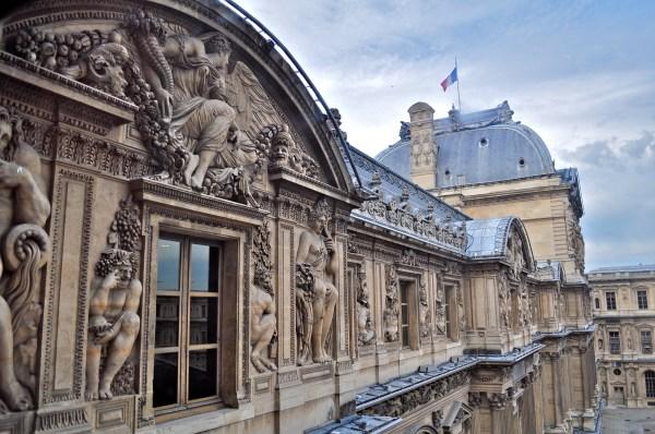Inside Louvre Museum France