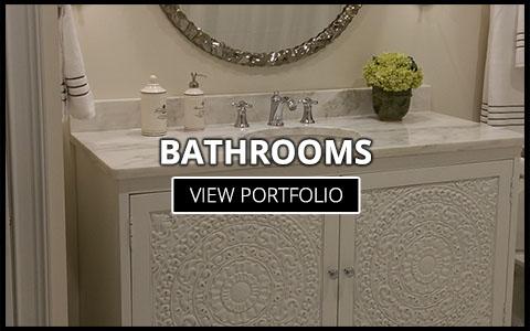 custom bathroom cabinet company greenville sc