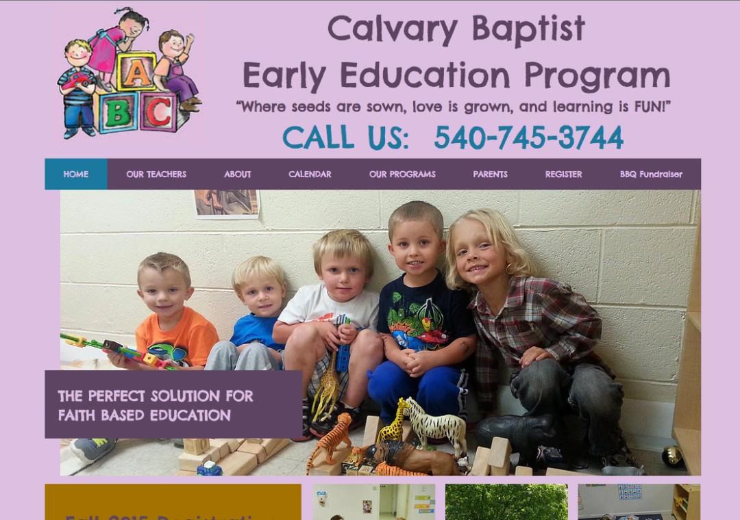 Calvary Baptist Early Education Program
