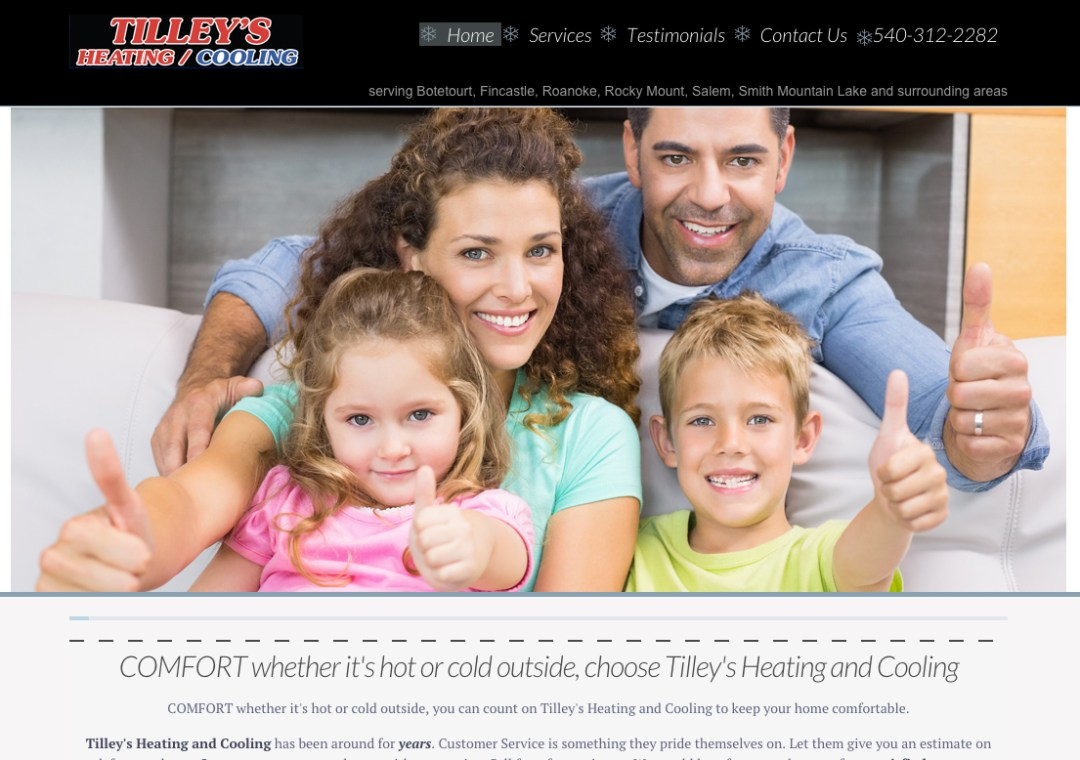 Tilley's Heating and Cooling