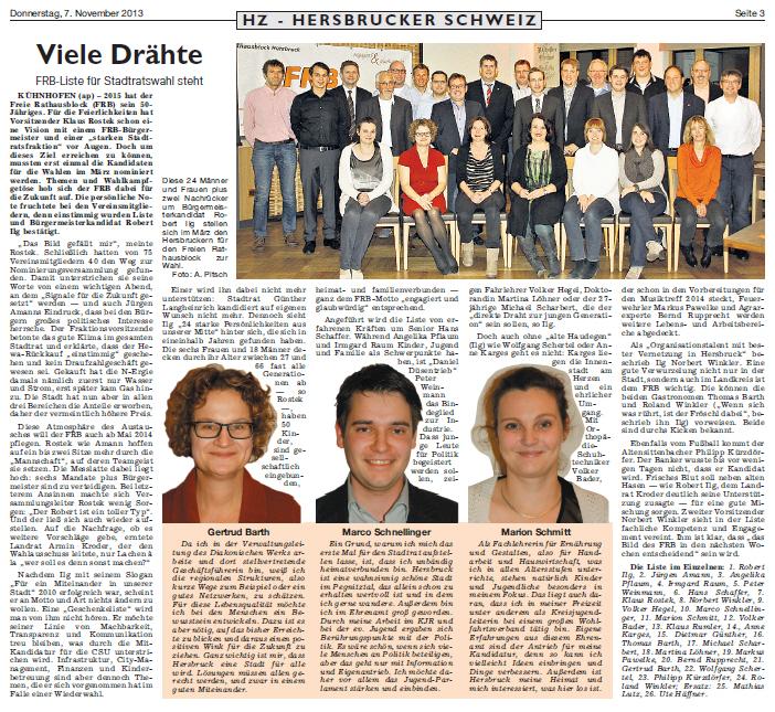 Presse 20131107