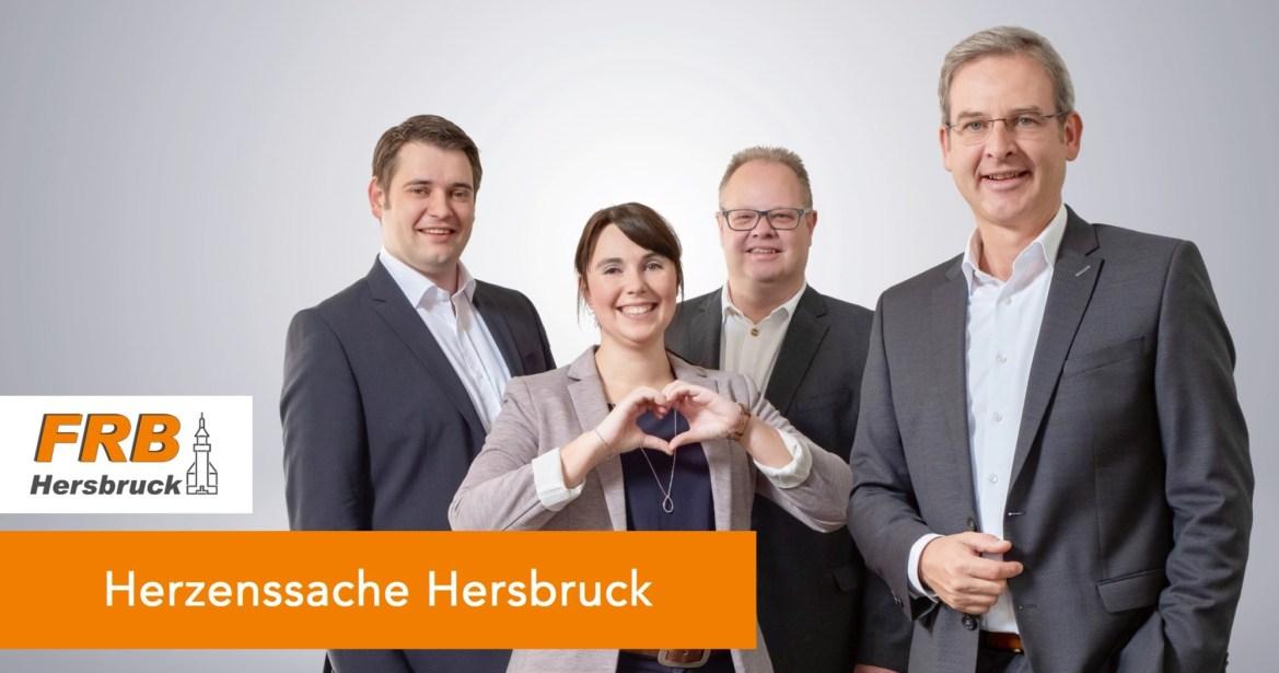 Marco Schnellinger, Dr. Martina Löhner, Armin Mergl und Robert Ilg setzen sich für die Erhaltung der Gesundheitsversorgung in Hersbruck ein.