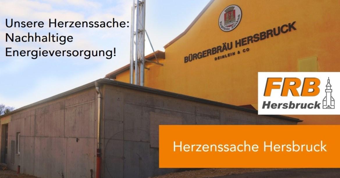 Unsere Herzenssache: Nachhaltige Energieversorgung!