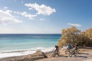 Freak Mountainbike Centre - along the beach road to Tsoutsouros