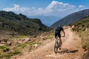 Freak Mountainbike Centre - downhill to Mochlos